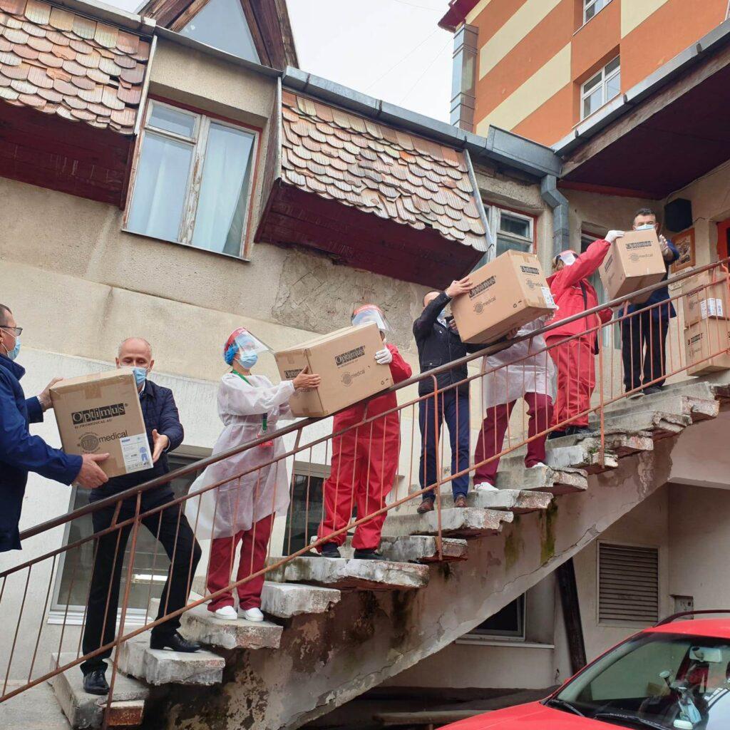 Crucea Roșie Sălaj vine în sprijinul Spitalului Județean din Zalău